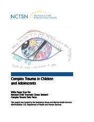 Complex Trauma - National Child Traumatic Stress Network