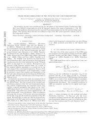 arXiv:astro-ph/0310542 v1 20 Oct 2003 - iucaa