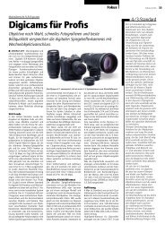 Objektive nach Wahl, schnelles Fotografieren und beste ... - Publisher