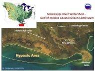 Mississippi River Watershed - Center for Sponsored Coastal Ocean ...