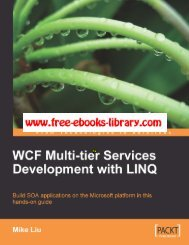WCF-Multi-Tier-Services-Development(pdf) - DOC SERVE