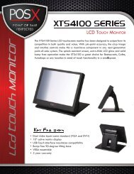 Product Brochure - POS systems