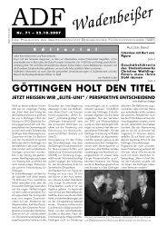 Wadenbeißer Nr. 71 vom 22.10.2007 [PDF] - ADF ...