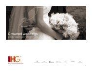 Wedding by Crowne Plaza - Ana Hotels