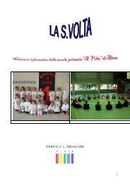 1 ANNO V, n° 1, Febbraio 2006 - Direzione Didattica di Trasaghis