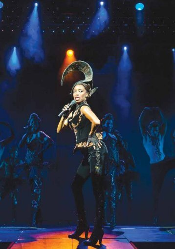 The Bodyguard the Musical featured in Lighting & Sound International