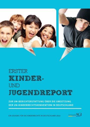 und Jugendreport 2010 - Kinder