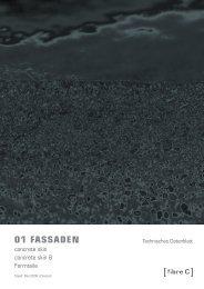 concrete skin 8 - Architektur & Technik