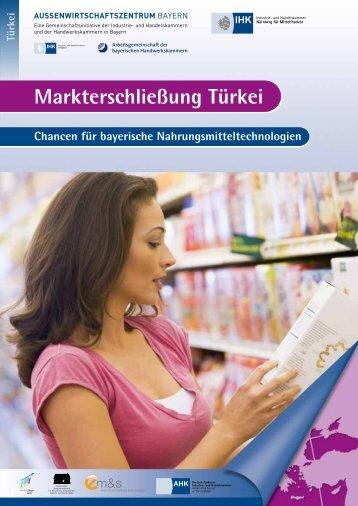 Flyer Türkei - Außenwirtschaftszentrum Bayern