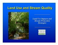 Land Use and Stream Quality - Cumberland County Soil & Water ...
