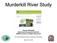 Murderkill River Study - Delaware Department of Natural Resources ...