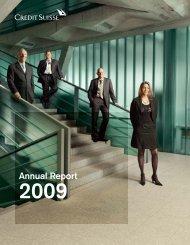 Annual Report 2009 - Alle jaarverslagen
