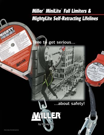 MiniLite/MightyLite Self-Retracting Lifelines - Miller Fall Protection