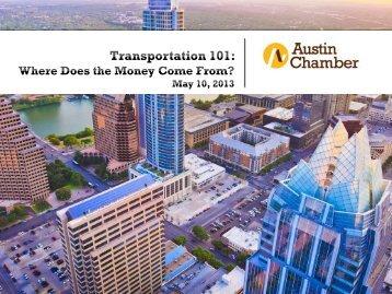 Transportation Funding - The Greater Austin Chamber of Commerce
