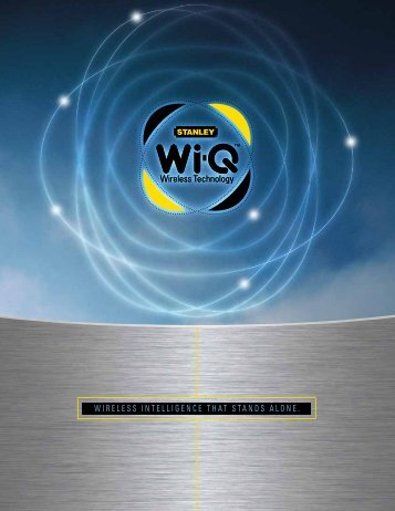 Wi-Q Brochure - Best Access Systems