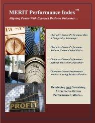 MERIT Performance Index - Future Achievement International