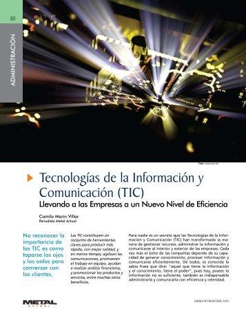 TIC - Revista Metal Actual