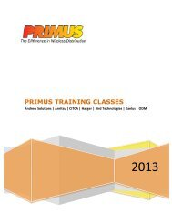 2013 - Primus Electronics Corporation
