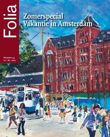Zomerspecial Vakantie in Amsterdam