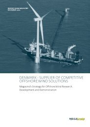 Denmark - supplier of competitive offshore winD ... - State of Green