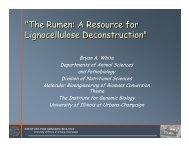 presentation - pdf - Center for Advanced BioEnergy Research ...