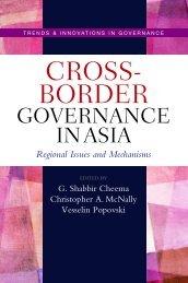 Cross-border governance in Asia - United Nations University