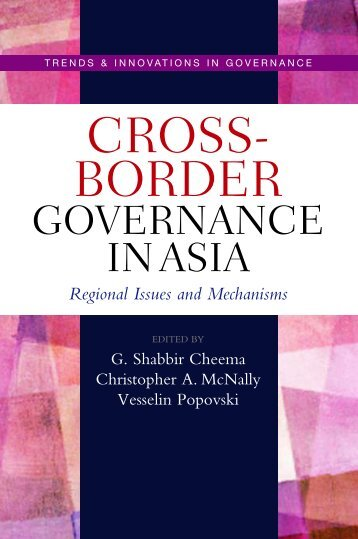 Cross-border governance in Asia - United Nations University