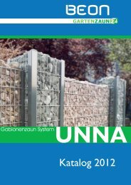 Katalog Serie Unna - Gartenzaun24
