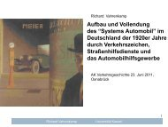 """Aufbau und Vollendung des """"Systems Automobil"""" im Deutschland ..."""