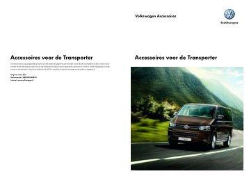 Prijslijst VW Bedrijfswagens Transporter accessoires per ... - Fleetwise