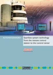 Seamless system technology from the remote ... - Phoenix Contact