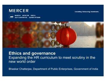 Bhaskar Chatterjee (PDF) - Mercer Signature Events