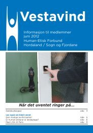 Juni 2012 - Human-Etisk Forbund