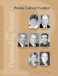 2003 Outstanding Alumni - Penta Career Center