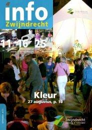 27 augustus, p. 15 - Gemeente Zwijndrecht