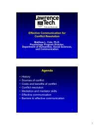Effective communication for conflict resolution and mediation
