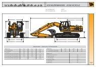 Datenblatt JCB Raupenbagger JS220 - DEMCO JCB
