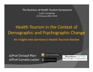 Health Tourism in the Context of Demographic and Psychographic ...