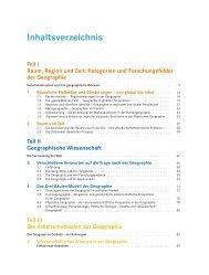 Inhaltsverzeichnis - Spektrum der Wissenschaft