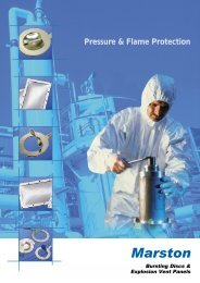 Marston Technical Catalogue - Safety Systems UK Ltd