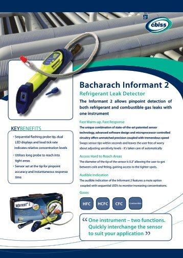 Bacharach Informant 2 Datasheet - A1 Cbiss