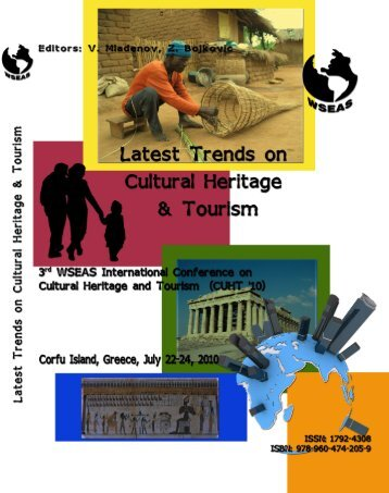 Latest trends on cultural - Wseas.us