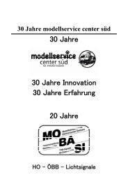 30 Jahre modellservice center süd - mobasi