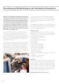 Forschungsbericht 2013 - Hochschule Rosenheim - Seite 6