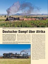 Deutscher Dampf über Afrika - Tanago.de