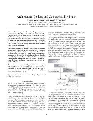 Design and construction specification for marine loading arms for Architectural design issues