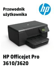 HP Officejet Pro 3610 User Guide – PLWW