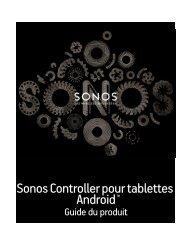 Sonos Controller pour tablettes Android - Almando