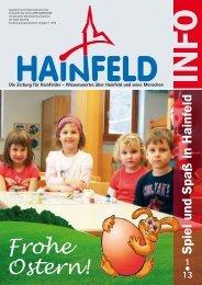 Hainfeld Info 1/2013 - Wir Hainfelder