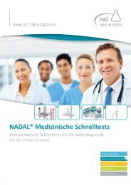 NADAL® Medizinische Schnelltests - nal von minden